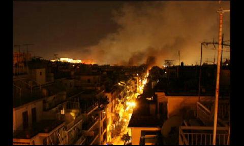 Atene brucia-12 febbraio 2012