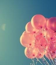 palloncini rosa per San Valentino