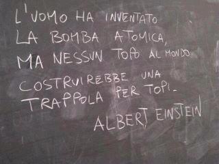 Una massima di Albert Einstein