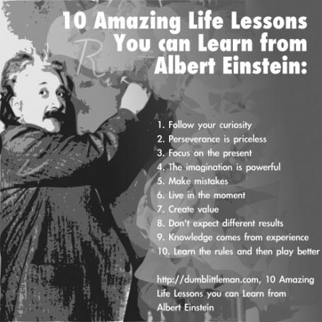 Lezioni di vita - Albert Einstein