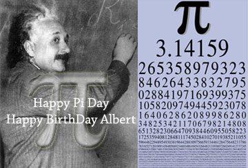 PI Day e compleanno Albert Einstein