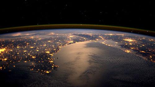 Ora della Terra dallo spazio