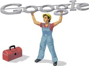 doodle Google 1 Maggio - Festa del Lavoro