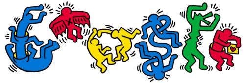 doodle di Google per Keith Haring