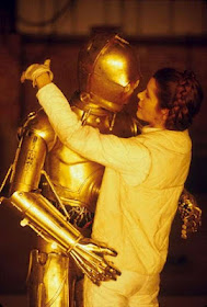 foto dal backstage del film Star Wars