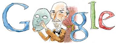 il doodle di Google dedicato a Luigi Pirandello