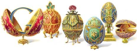 doodle Google Fabergé