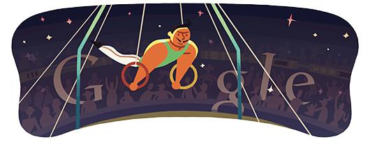 doodle di Google - Olimpiadi 2012 - Anelli