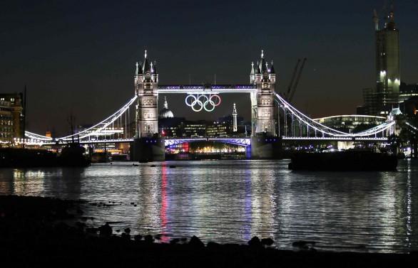 Londra 2012 by night