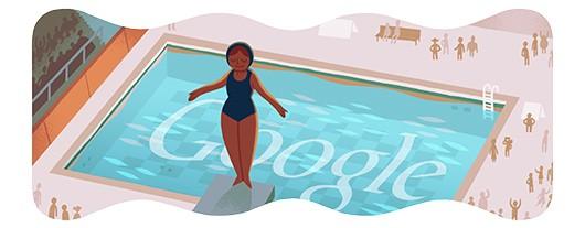doodle di Google - Olimpiadi 2012 - Nuoto