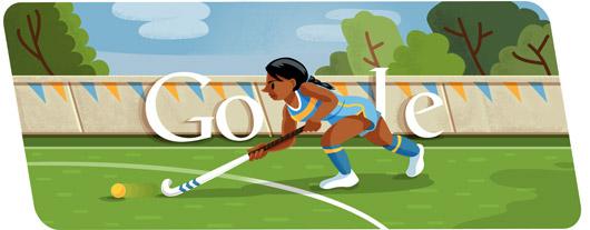 doodle di Google - Olimpiadi 2012 - Hockey su prato