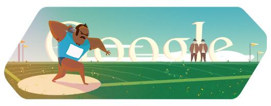 doodle di Google - Olimpiadi 2012 - Lancio del Peso