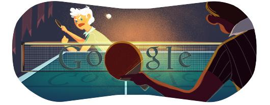 doodle di Google - Olimpiadi 2012 - Tennis Tavolo