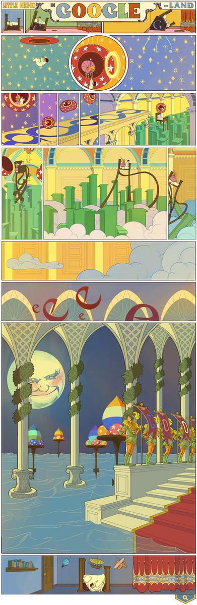 illustrazione doodle per Little Nemo