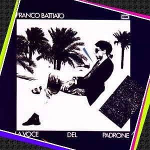 copertina LP La voce del padrone di Franco Battiato