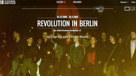 Google Cultural Institute e muro di Berlino