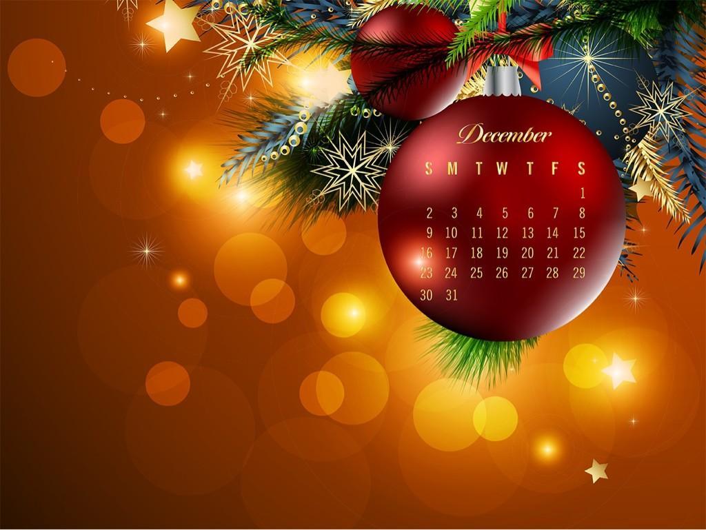 calendario Dicembre 2012