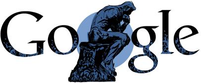 doodle di Google per Auguste Rodin