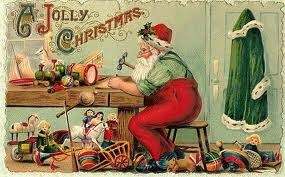 cartolina Papà Natale