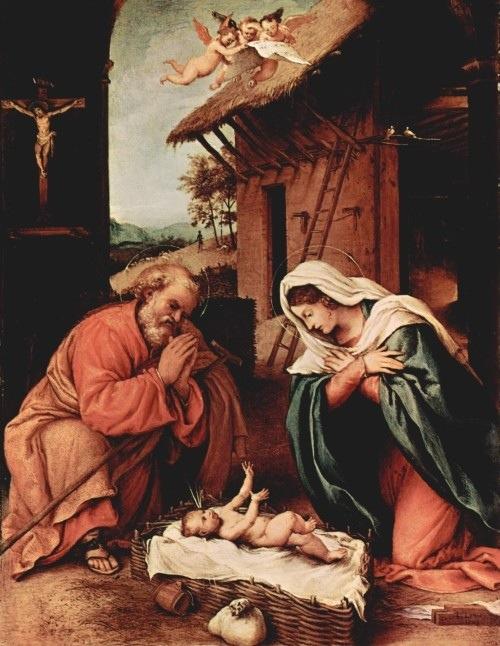 Natività di Lorenzo Lotto