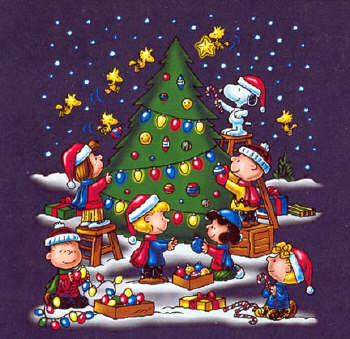Immagini Natale Snoopy.Peanuts Merry Christmas N Vigando