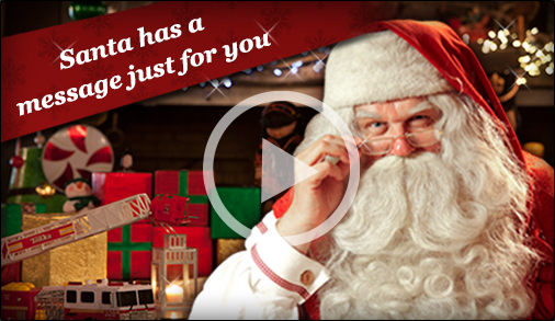 Santa has a message just for you!