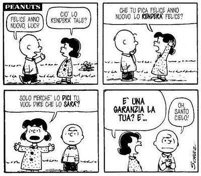 (Buon) Anno Nuovo con i Peanuts