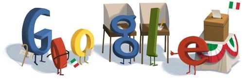 doodle di Google per le votazioni in Italia