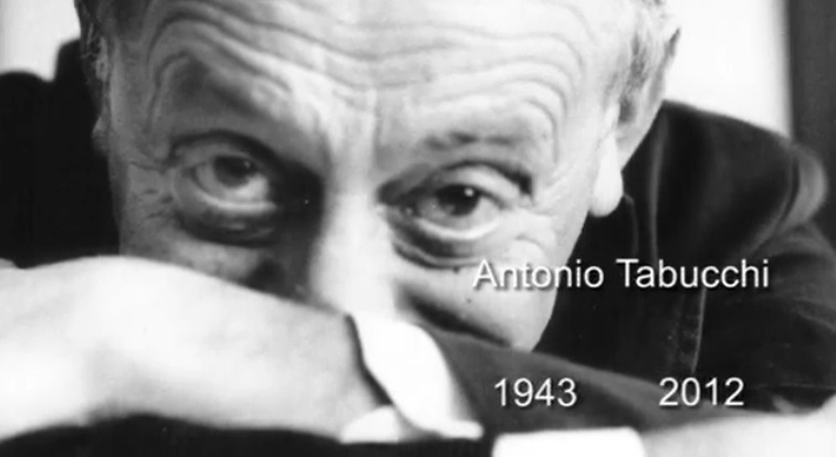 foto Antonio Tabucchi