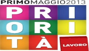 logo per il 1 Maggio 2013