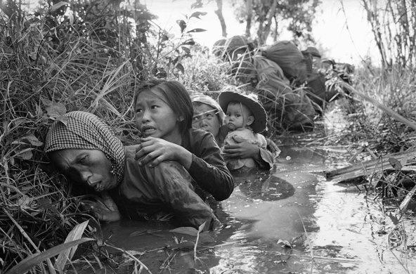 foto dal Vietnam di Horst Faas