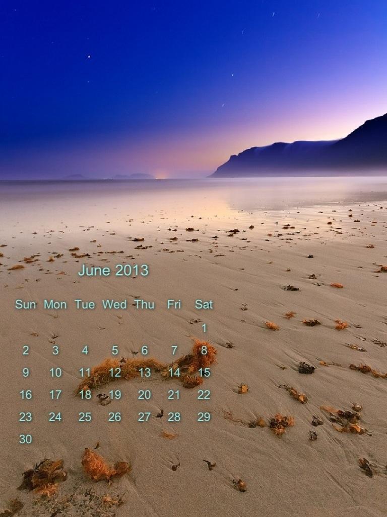 calendario Giugno