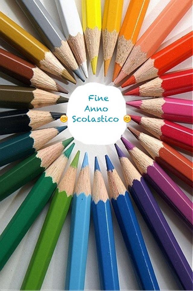 Fine Anno Scolastico