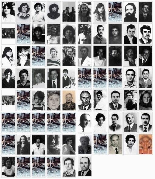 vittime strage stazione di Bologna 2 agosto 1980