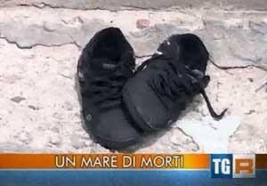 un mare di morti a Lampedusa