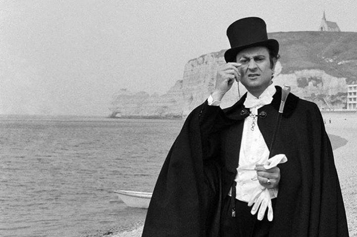 Georges Descrières interpreta Arsenio Lupin