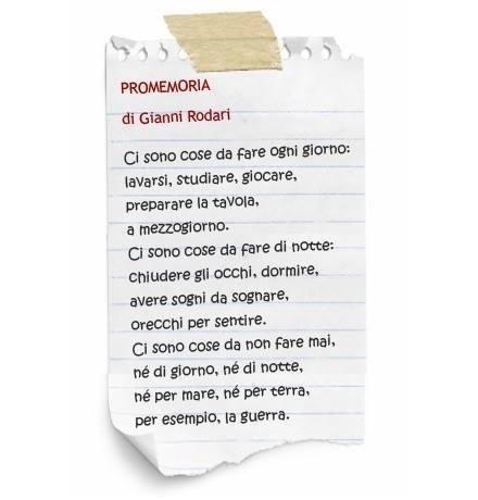 Promemoria di Gianni Rodari