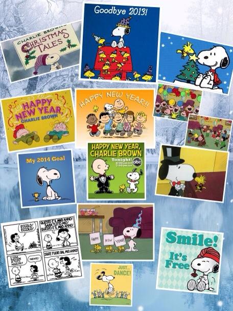 Buon Anno Nuovo da Snoopy e dalla Peanuts gang