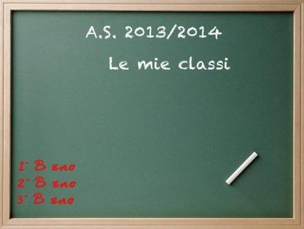 le mie classi a.s. 2013/2014
