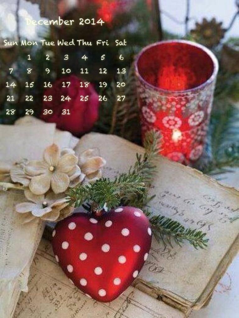 calendario di Dicembre