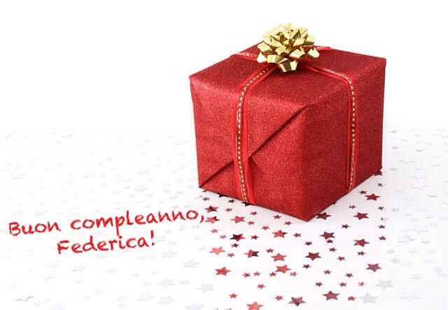 Buon compleanno, Federica!